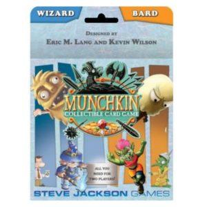 Munchkin Wizard & Bard