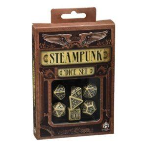 Steampunk dice set
